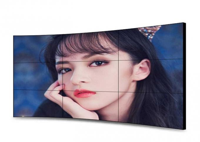 Compatible 46 Inch CCurved LCD Video Wall 1920 X 1080 Resolution Low Maintenance
