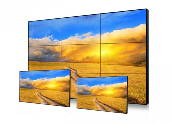 High Brightness Touch Screen Video Wall 1920 * 1080 Resolution Fast Response Time