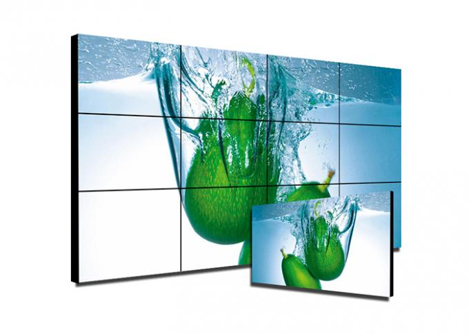 Full HD 1080P Ultra Narrow Bezel Video Wall Screen Wide Viewing Angle For Control Rooms