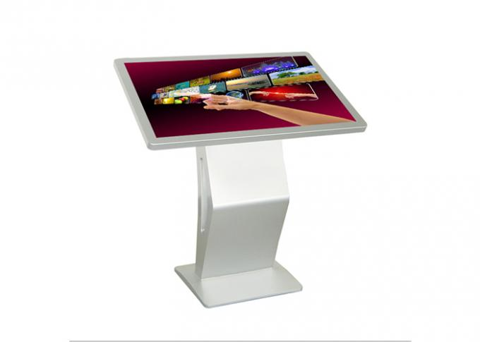 58 Inch IR Touch Screen Digital Signage Information Kiosk Support Lan WAN WIFI 3G