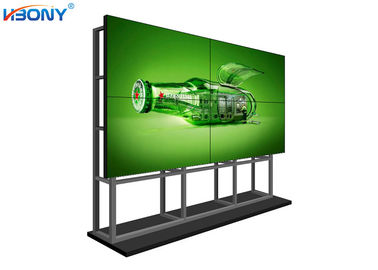 China Indoor Free Standing Seamless LCD Video Wall With Samsung DID Screen Low Maintenance supplier