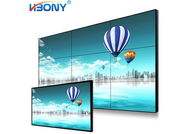 Resolution 1920*1080 LCD Video Wall 49'' 178°H/178°V Visual Angle CE Approval