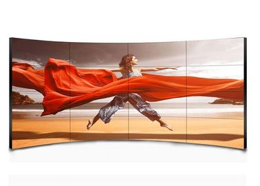 China Compatible 46 Inch CCurved LCD Video Wall 1920 X 1080 Resolution Low Maintenance supplier