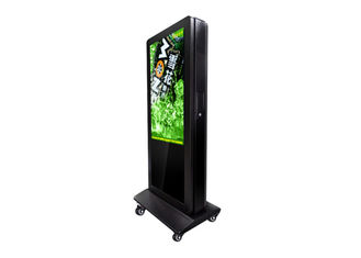 Full HD 65 Inch Outdoor Digital Signage Kiosk Anti - Corrosion For Street / Square
