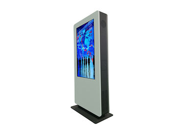 Bus Stop / Station Advertising Kiosks Displays , Free Standing Digital Display Screens