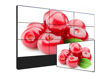 High Refresh Rate Seamless LCD Video Wall Advertising Display For Airport / Finacial