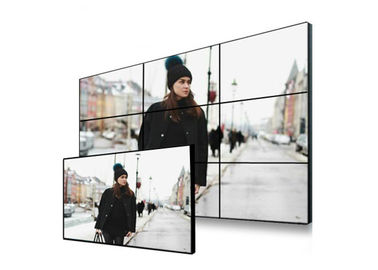 VGA DVI LCD Interface Video Wall Panels , HDMI BNC AV RS232 Multi Monitor Wall