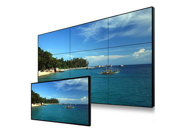 Digital Information Seamless LCD Video Wall Display Compatible No Boundary Shadow