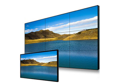 High Definition Ultra Narrow Bezel Monitor , 4k Rear Projection Video Wall