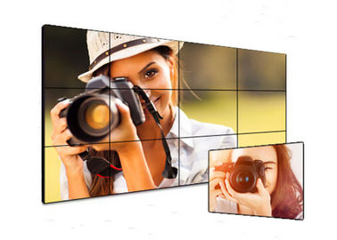 Commercial Digital Signage Video Wall , VGA HDMI Ultra Thin Bezel Video Wall