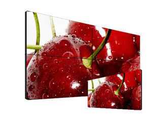 Seamless Ultra Narrow Bezel Video Wall 60000 Hours Life Span Low Power Consumption