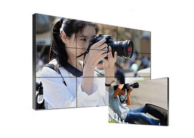 High Definition Ultra Narrow Bezel Video Wall HDMI DVI VGA Signal Long Service Life