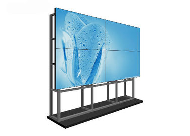 LCD Large Free Standing Video Wall , 4K Information Display LCD Screen Wall
