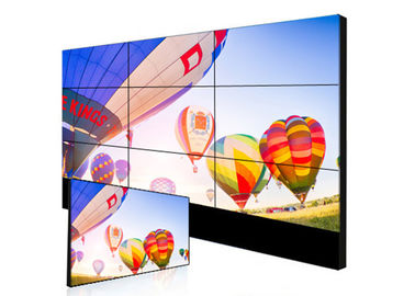Clear Image Ultra Narrow Bezel Video Wall Display Information Boards For Transport