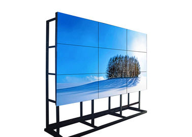 High Resolution 46 Inch Multi Screen Video Wall Wide Viewing For Subway Airport