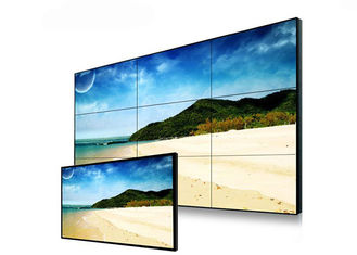 Indoor 3 X 3  4k Video Wall Display , Exhibition Hall Multi Touch Video Wall