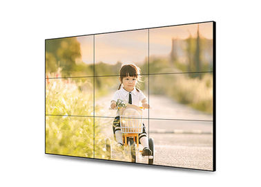 Indoor Digital Touch Screen Video Wall 500nits Brightness Low Power Consumption