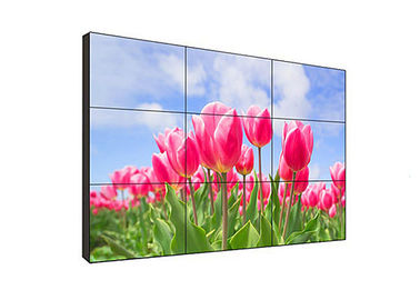 Remote Control Narrow Bezel Video Wall , 55 Video Wall Display For Advertising