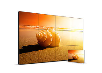China 55 Inch Seamless Lcd Video Wall , Full HD Thin Bezel Monitor For Video Wall supplier