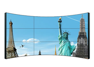 49 Inch LCD Video Wall Screens  , High Brightness Curved Video Wall Tv Screens