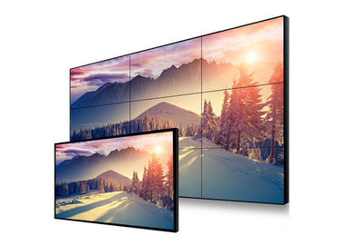High Brightness Seamless LCD Video Wall Display 4K Brightness Low Power Consumption