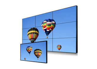 Indoor Advertising Seamless LCD Panels , Ultra HD Resolution Super Narrow Bezel Monitor