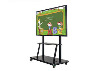 Ultra Thin Smart Interactive Whiteboard Information Display High Definition For Bank