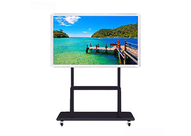 China Infrared Touch Smart Board Interactive Whiteboard , Large Digital Smart Board Display supplier