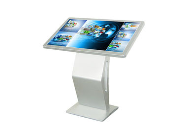 High Definition  Touch Screen Monitor Floor Stand  , 47 Inch Computer Kiosk Stand