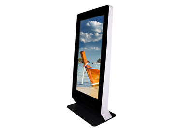 Exhibition Halls Indoor Digital Signage Kiosk Remote Control Function Anti - Dust