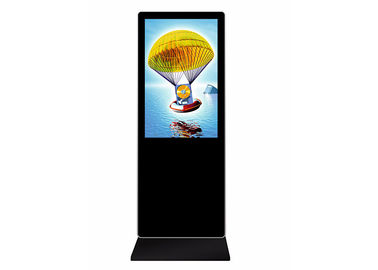 Floor Stand Indoor Digital Signage LCD KIOSK 55 Inch Low Power Consumption