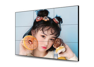 1.8mm LCD Video Wall Screens , Interactive Touch Screen Video Wall Low Heat Radiation