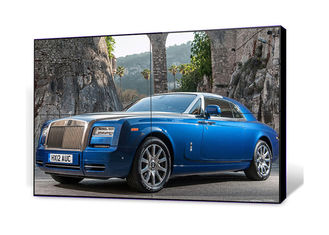 Ultra Narrow 49 Inch Seamless LCD Video Wall 3.5mm High Contrast Metal Casing Material