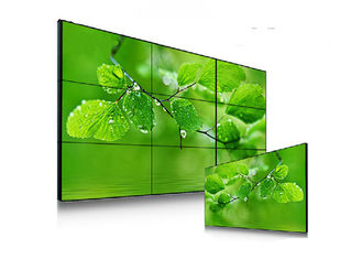 High Brightness 1.7mm Seamless LCD Video Wall Viewing Angle For Information Display