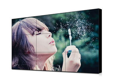 High Definition Seamless LCD Screens , Advertising Seamless Video Wall Displays