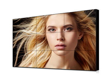 49 Inch 1.8mm Ultra Narrow Bezel Video Wall IPS Panel 500cd Brightness Light Weight