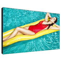 3.5mm Seamless Lcd Display , Indoor Advertising Lcd Video Wall Screens 49 Inch