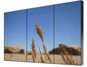 Vertical Narrow Bezel LCD Video Wall Solution Display 500cd/m² Brightness 1 Year Warranty