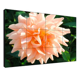Super Narrow Bezel 0.88mm  55' LG Full Color LCD Video Wall with Resolution 3840*2160