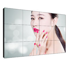 Shopping Mall Video Wall TV Screens 1920*1080 Ultra Narrow Bezel 55 Inch For Advertising