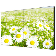 55'' LG Full Color Digital Signage Video Wall , Super Narrow Bezel Monitor Resolution 3840*2160