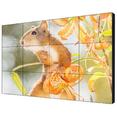 Wall Mount Rack LCD Video Wall In LG Panel 49'' Seamless With Built - In Controller
