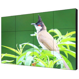 TFT Type 49 Inch Indoor LCD Video Wall Controller 450 Nits Brightness For Advertising