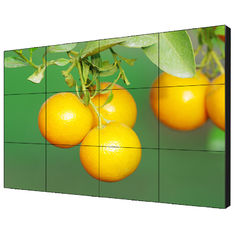 55'' Narrow Bezel Seamless Video Wall Displays , Multi Lcd Display 500cd/m2 Brightness