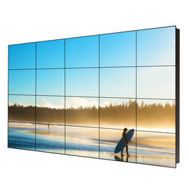High Brightness Seamless LCD Video Wall 46'' Narrow Bezel For Broadcasting Studio