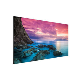 55 Inch LCD Interactive Touch Screen Video Wall 8ms Response Time 4k Resolution