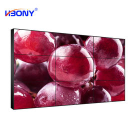LED Backlight Indoor Seamless Video Wall LCD Monitors Ultra Narrow Bezel Panel For Advertising