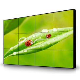 Full Color Long Lifespan LCD Video Wall Narrow Bezel 1080FHD 46'' 1.7mm Wall Mounted