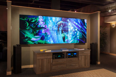 Multi Screen Digital Signage Video Wall Monitors Indoor High Definition For Commercial Advertising