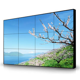 Smart Seamless Lcd Screens , Video Wall Display Monitors 55'' Multimedia 1920*1080 Resolution